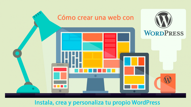 Cómo crear una web con WordPress