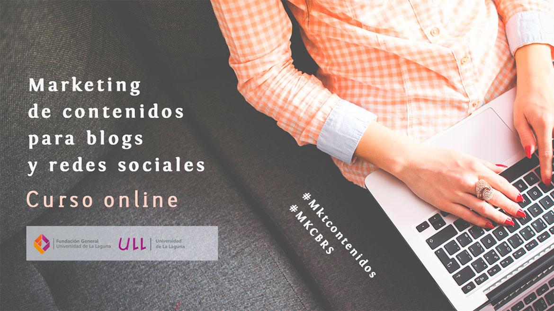 CURSO ONLINE – MARKETING DE CONTENIDOS PARA BLOGS Y REDES