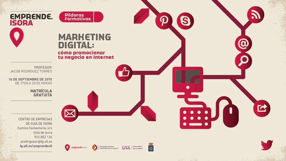 Marketing digital - Cómo promocionar tu negocio en Internet - Guía de Isora - Tenerife Sur
