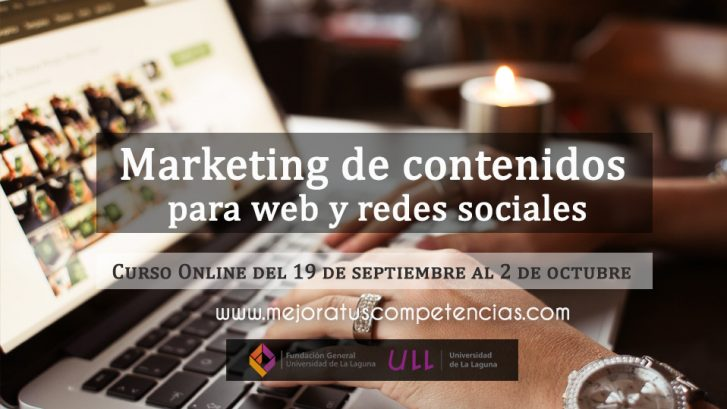 Marketing de contenidos para blogs y redes sociales - Online
