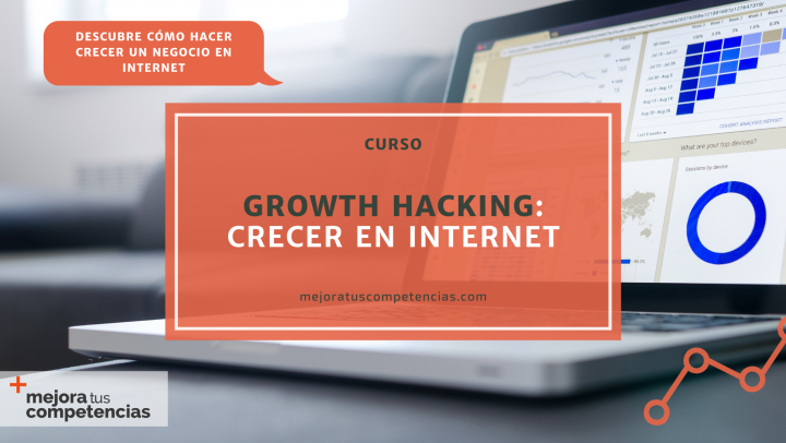 Banner del curso de growth hacking